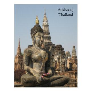 Sukhotaï, Thailand Postcard