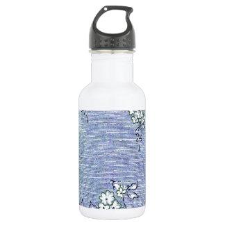 """Suki"" Vintage Wall Paper 532 Ml Water Bottle"