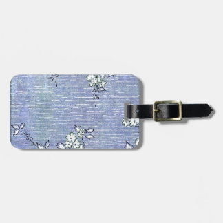 Suki Vintage Wall Paper Travel Bag Tag