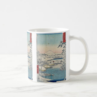 Sukiyabashi the eastern Capital by Ando,Hiroshige Coffee Mug