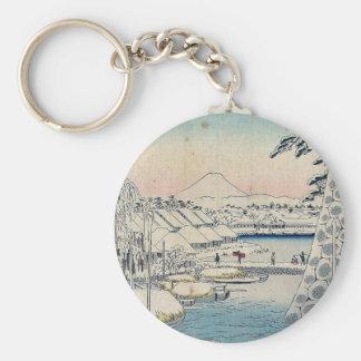 Sukiyabashi the eastern Capital by Ando,Hiroshige Key Chain