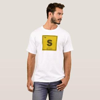 Sulfur chemical element symbol chemistry formula g T-Shirt