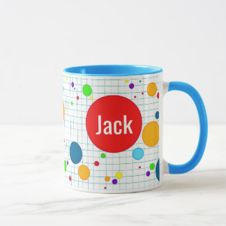 Sulk - computer computerspel agario-stijl - blue mug