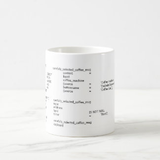 Sulk for nerds coffee mug