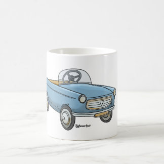 Sulk with pretty Peugeot 404 in retro garlic Coffee Mug