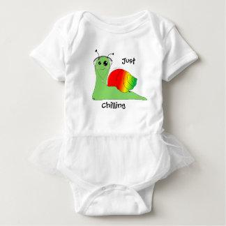 Sullivan la Snail loves music: Reggae Baby Bodysuit