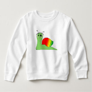 Sullivan la Snail loves music: Reggae Sweatshirt
