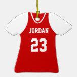 Sullivan Redskins Custom Sports Jersey