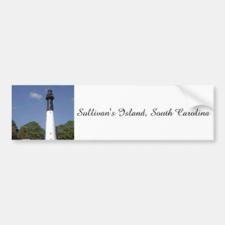 Sullivan's Island Lighthouse Bumper Sticker