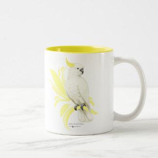 Sulphur Crested Cockatoo Two-Tone Coffee Mug