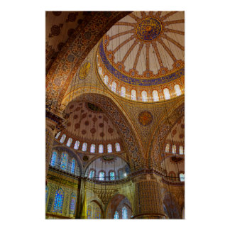 Sultan Ahmed Mosque Poster