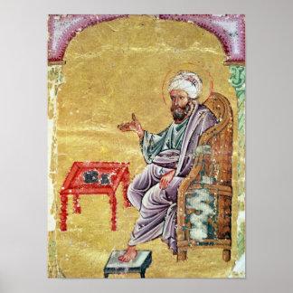 Sultan Ahmet III  from 'De Materia Medica' Print
