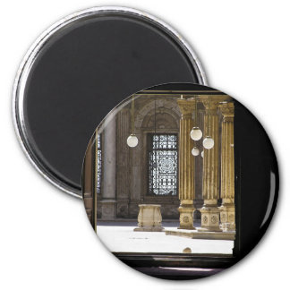 Sultan Ali mosque in Cairo 6 Cm Round Magnet