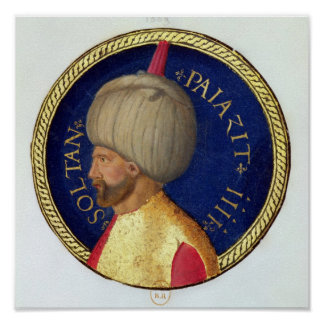 Sultan Bayezid I Poster