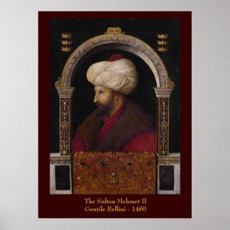 Sultan Mehmet II Canvas Print