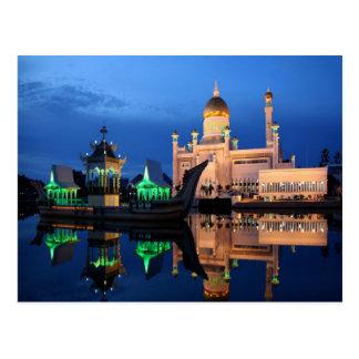 Sultan Omar Ali Saifuddin Mosque Postcard
