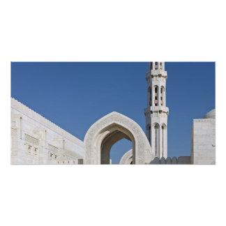 Sultan Qaboos Grand Mosque Muscat Sultanate Oman