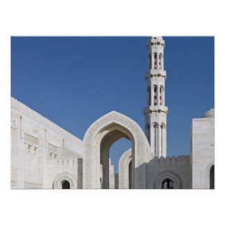 Sultan Qaboos Grand Mosque Muscat Sultanate Oman Posters