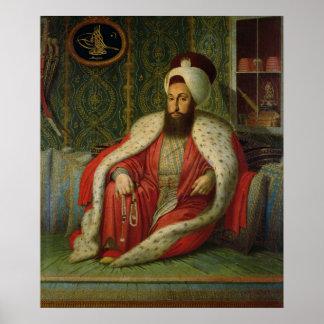 Sultan Selim III, c.1803-04 Poster