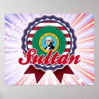 Sultan, WA Poster