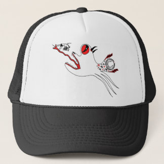 Sultana Fish design Trucker Hat
