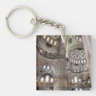 Sultanahmet Mosque in Istanbul Turkey Key Ring