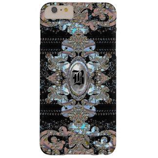 Sultercoy Elegant Monogram 6/6s Barely There iPhone 6 Plus Case