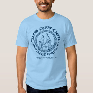 SUM DUM CHICK massage parlour Tee Shirts
