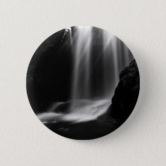 Sum Waterfall in Vintgar Gorge 6 Cm Round Badge