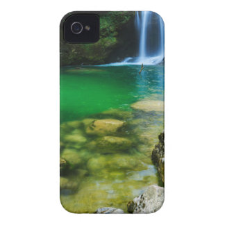Sum Waterfall in Vintgar Gorge, near Bled, Sloveni Case-Mate iPhone 4 Case