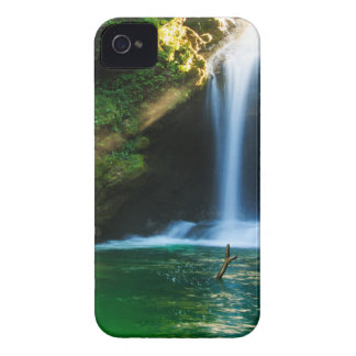 Sum Waterfall in Vintgar Gorge, near Bled, Sloveni iPhone 4 Case