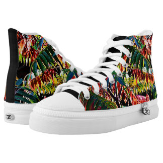 Sumac Fire High Top Sneakers