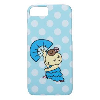 sumahokesu (hard) abani child blue iPhone 8/7 case