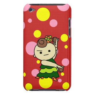 sumahokesu (hard) Paris child green Case-Mate iPod Touch Case