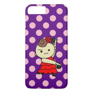 sumahokesu (hard) Paris child red iPhone 8 Plus/7 Plus Case