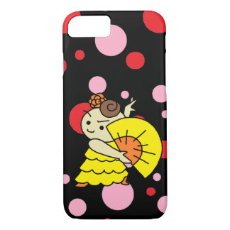 sumahokesu (hard) sense child yellow iPhone 8/7 case