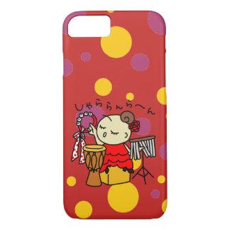 sumahokesu (hard) shiyara child red iPhone 8/7 case