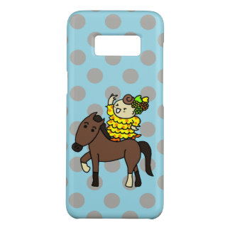 sumahokesu (hard) well the child it is dense brown Case-Mate samsung galaxy s8 case