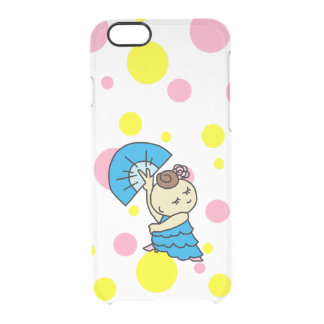 sumahokesu (transparency) abani child blue clear iPhone 6/6S case