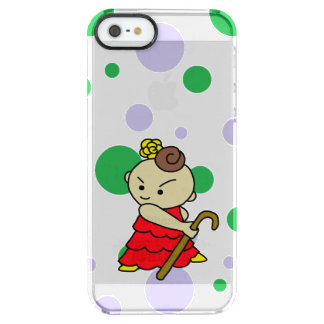 sumahokesu (transparency) bus child red clear iPhone SE/5/5s case