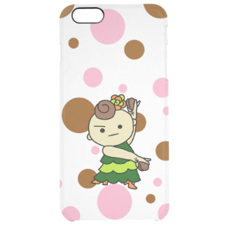 sumahokesu (transparency) Paris child green Clear iPhone 6 Plus Case
