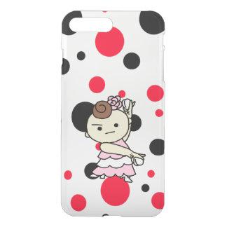sumahokesu (transparency) Paris child white iPhone 8 Plus/7 Plus Case