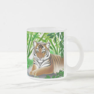 Sumatran Tiger in Bamboo Jungle Mug