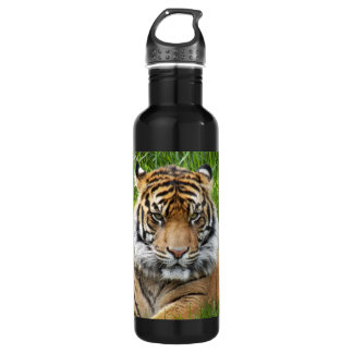 Sumatran Tiger Photo 24oz Water Bottle