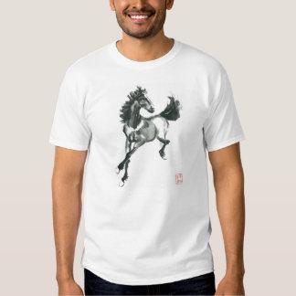 Sumi-e Horse Tshirt