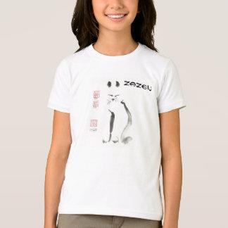 Sumi-e    Zen Cat Meditation T-Shirt