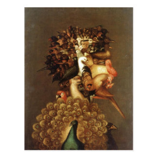 Summary Description Giuseppe Arcimboldo The Air .  Postcard