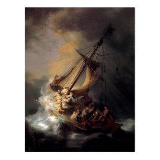 Summary Description One of Rembrandt Harmenszoon v Postcard