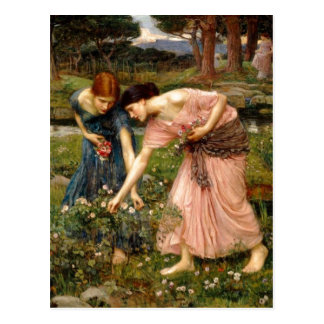 Summary John William Waterhouse (1849-1917) Gather Postcard