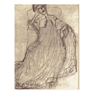 Summary Klimt, Gustav Studie f?r das Gem?lde Bildn Postcard